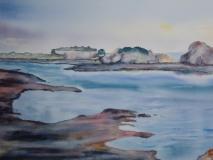 Lumière - Baie de Cancale 51 x 36 cm