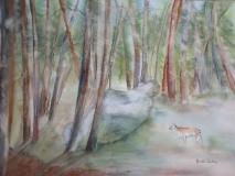 Forêt enchantée 51 x 36 cm
